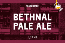Bethnal Pale Ale 5.5°