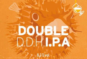 DOUBLE DDH IPA 8.3°